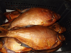 Bream of cold smoking