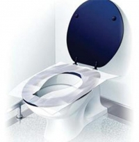 Slips, coverings 200 pieces, hygienic on a toilet