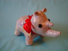 Buy toys a hippopotamus, an elephant, a rhinoceros