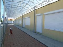 Malls, pavilyona trade, pavilyona, booths, shops
