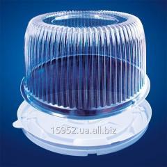 Пластиковая упаковка для торта 1171