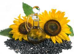 Sunflower oil nerafinirovany 1st grade