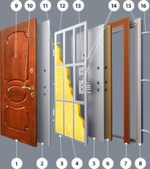 Doors Armour (Ukraine) Various Options of