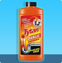 Cleaner for pipes the granulated Tytan 500 of (the