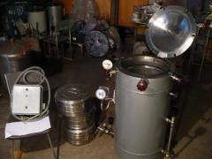 Sterilizers are steam, a sterilizer steam vk 75