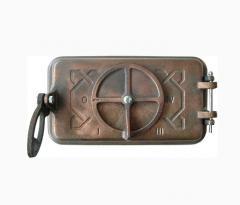 Pig-iron door cindery W190051