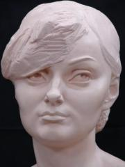 Sculptural portraits, busts