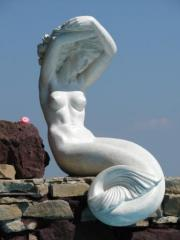 Monumental and decorative sculpture: statues