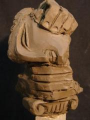 Sculptures are decorative