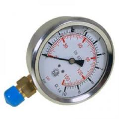 Manometer of radial 100 mm