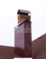 Трубы вентиляционные, воздуховоды, дымоходы.