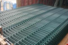 The grid is welded, Sale of different types of