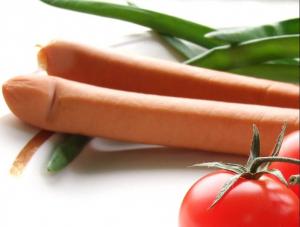 Edible sausage cover