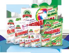 The laundry detergent ORIGINAL plus for