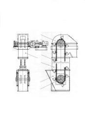 Elevator (noriya) chain kovshovy TsG type