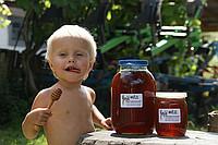 Мед гречишно-липовый от производителя, Украина