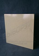 Perforation of business, trade wall