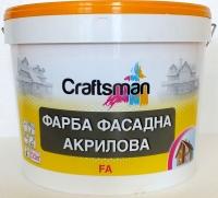 Farba of an akrilov, fasadn, base, Craftsman FA,
