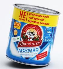 "Сгущенное молоко ""Фаворит"" 8,5%/Condensed milk ""Favoryt"" 8,5%"
