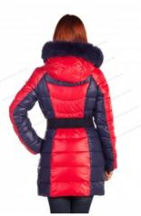 The clothes are winter female