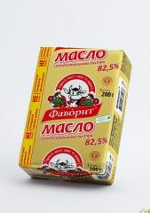 "Масло ""Фаворит"" 82,5%/Butter ""Favoryt"" 82,5%, 200 г/g"
