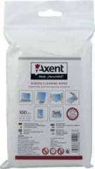 Spare napkins of Axent for monitors of 100 pieces