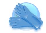 Универсальные виниловые перчатки ЗАБОТА , Швеция