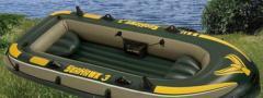 Boat Intex 68349 3-seater + oars + pump