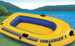 Inflatable boat single Challenger-1 Intex 68365