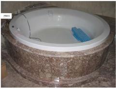 Натуральний камінь для облицювання ванної кімнати