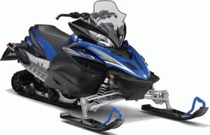 Snowmobile of Yamaha Apex X-TX