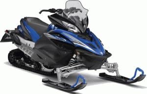 Snowmobile of Yamaha Apex X-TX