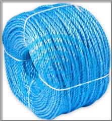 Products are rope, rope - rope polypropylene