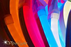 Flexible neon on light-emitting diodes Ice neon
