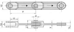 Conveyor (traction) chains