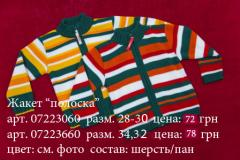 "Jacket ""Strip"", article 07223060"