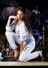 Спортивный костюм Yves Saint Laurent белый 1034