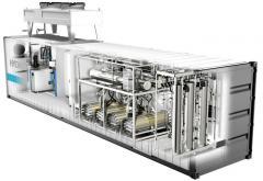 Generators of industrial gases