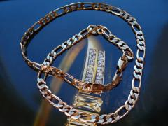 Man's chain 18k gold