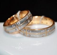 Обручальное кольцо 62557. В наличии имеются все