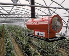 Генераторы теплого воздуха  EC/S : Дизельные ГТВ с