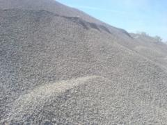 Eliminations stone. Crushed stone elimination