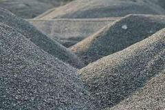 Crushed stone granite. Crushed stone of fraction.