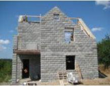 Materials wall construction. Thermoblocks