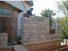 The block is wall thermoinsulating