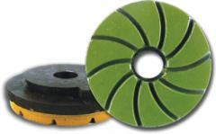 Grinding and polishing diamond wheels -