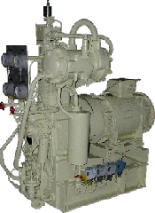 Агрегат компрессорный серии ЭКП для запуска