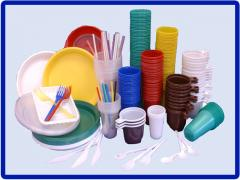 Ware tourist disposable plastic