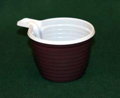 Чашки пластиковые одноразовые
