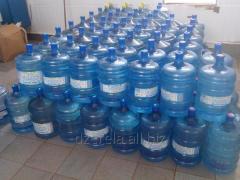 WATER butilirovannya drinking 13,0.19,0 L.